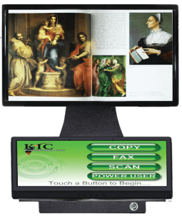 KIC Scanner Touchscreen monitor