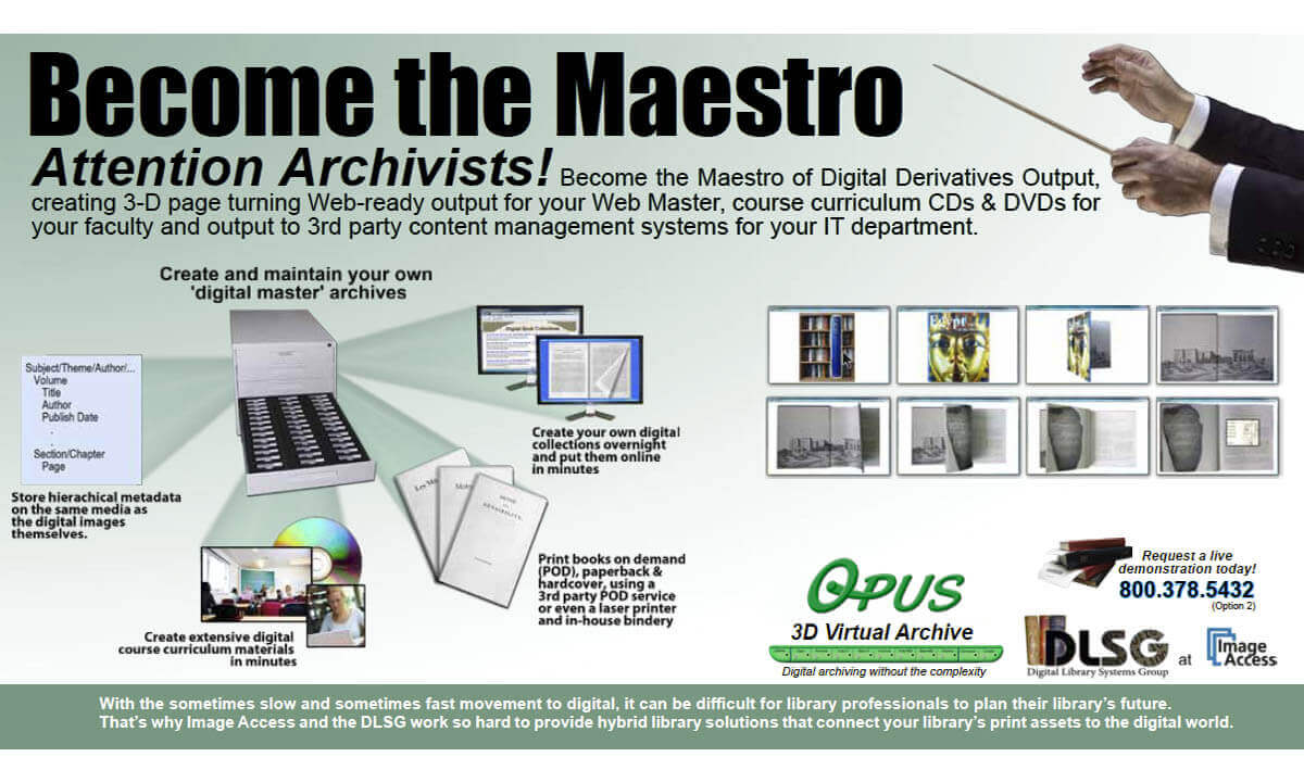 Opus 3D Virtual  Archive