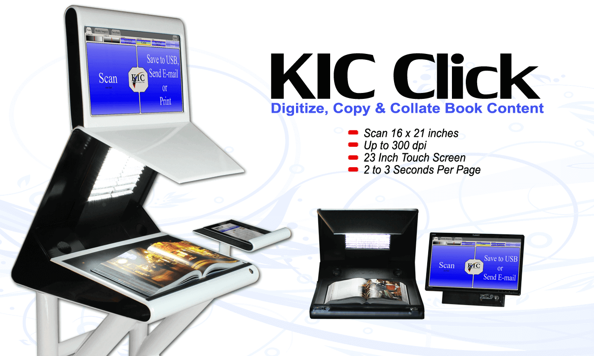 KIC Click Scanners