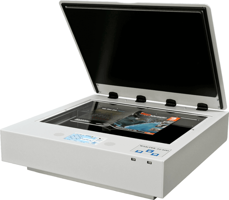 WideTek 25 Scanner